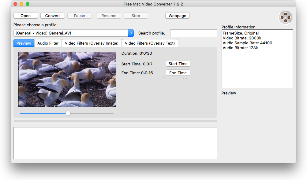 Free Mac Video Converter – Fast video conversion between