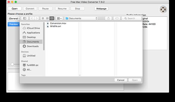 Start Video Conversion